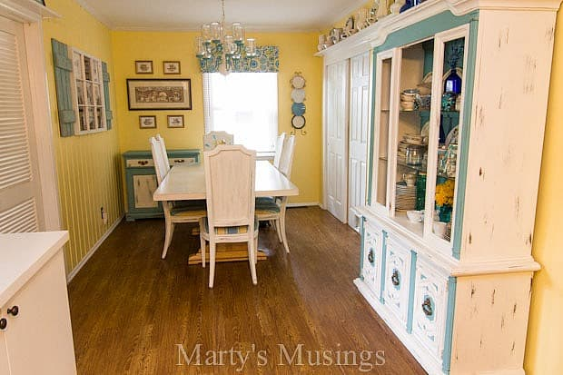Home tour from Marty's Musings