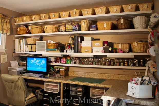 Craft Room Storage From Marty S Musings