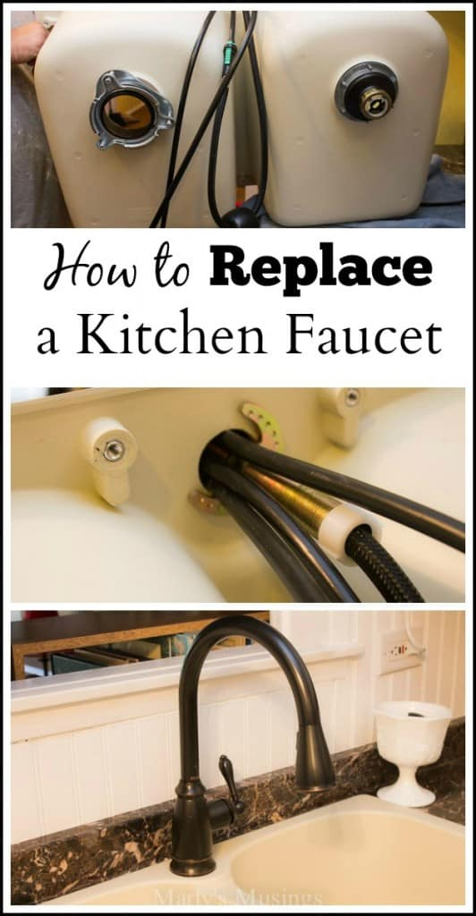changing a kitchen faucet how to replace a kitchen faucet 16655